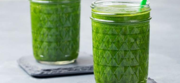 Suco verde detox e proteico para incluir no cardápio